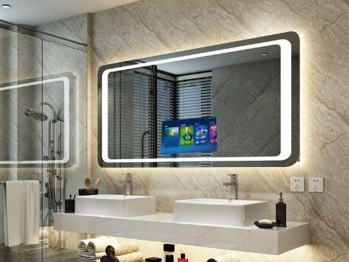 Hình minh họa: Kính gương soi wc, trang trí đẹp