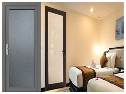Hình minh họa: Hình ảnh cửa phòng ngủ nhôm kính