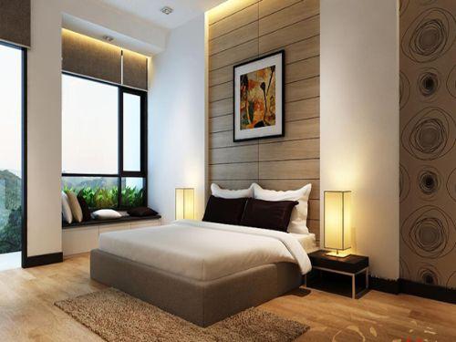 Hình minh họa: Cửa nhôm kính phòng ngủ